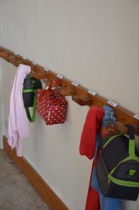 Porte-manteaux des enfants
